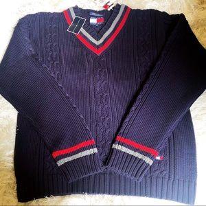 Tommy Hilfiger Sweaters - Tommy Hilfiger Mens XL Navy Blue